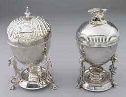Victorian Silver Egg Coddler