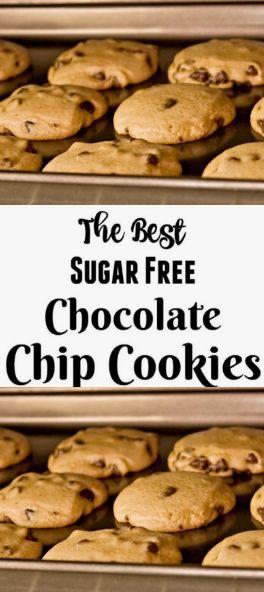 #Rezept #Schokolade >> Das Rezept für die besten zuckerfreien Schokoladenkekse …