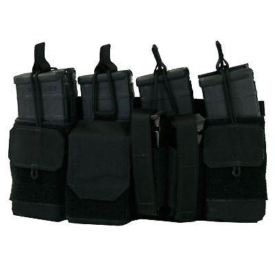 Tactical Assault Gear MOLLE Assaulters Panel Black 832604 Rifle Magazine Pouch