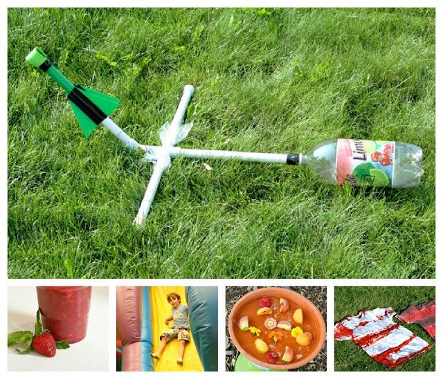 Water Bottle Rocket Craft: Počet Obrázků Na Téma Pokusy: Rakety Na Pinterestu: 17