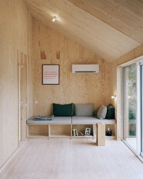 Cabin Porn™ – House Morran - a renovated 1950s cottage sheathed...
