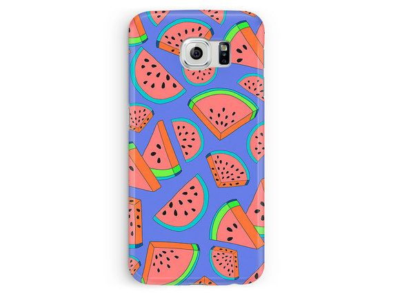Watermelon Phone Case Watermelon Samsung by TheSmallPrintCases