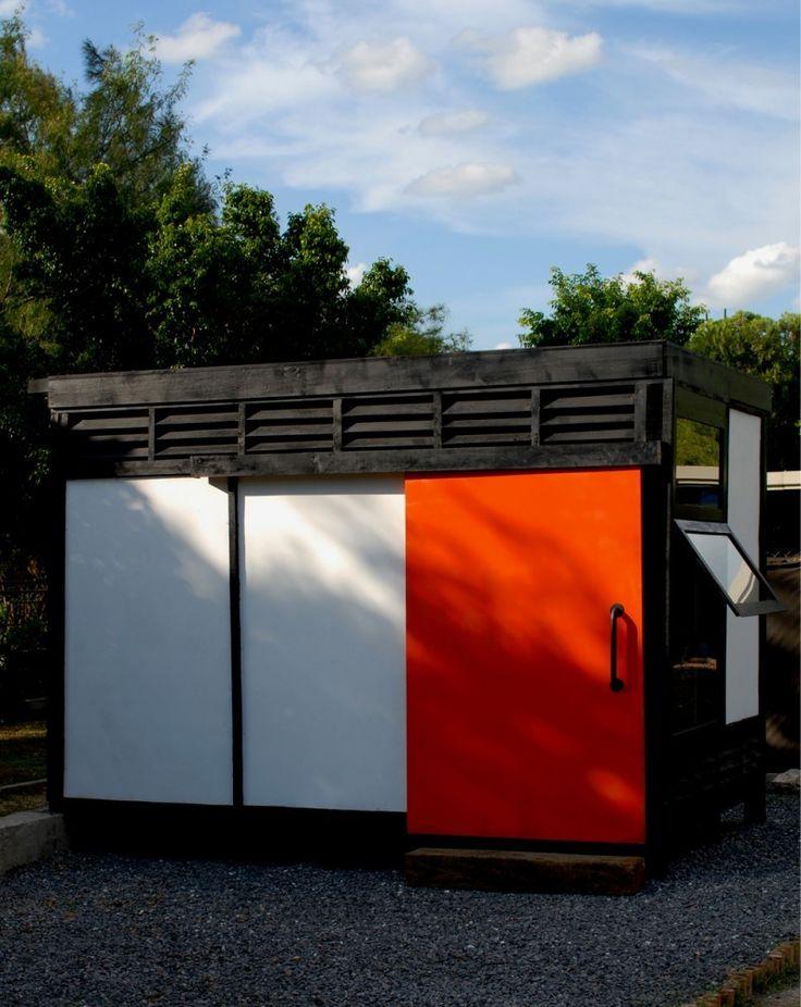 """Proyecto """"Módulo 10x10"""" reutiliza la fibra de vidrio para levantar prototipo de vivienda sostenible,© Ana Cecilia Garza Villarreal"""
