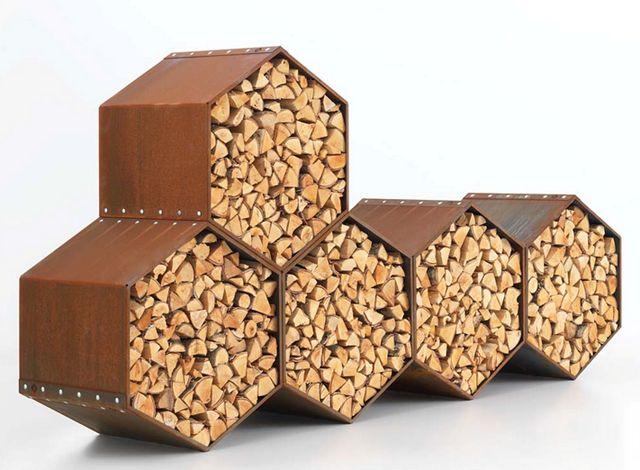 firewood storage