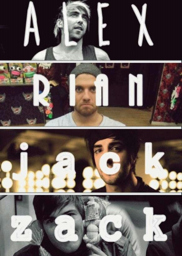Love these boys!  #AllTimeLow