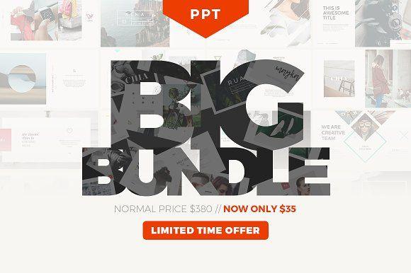 PPT BIG BUNDLE - 90% OFF by Angkalimabelas on @creativemarket