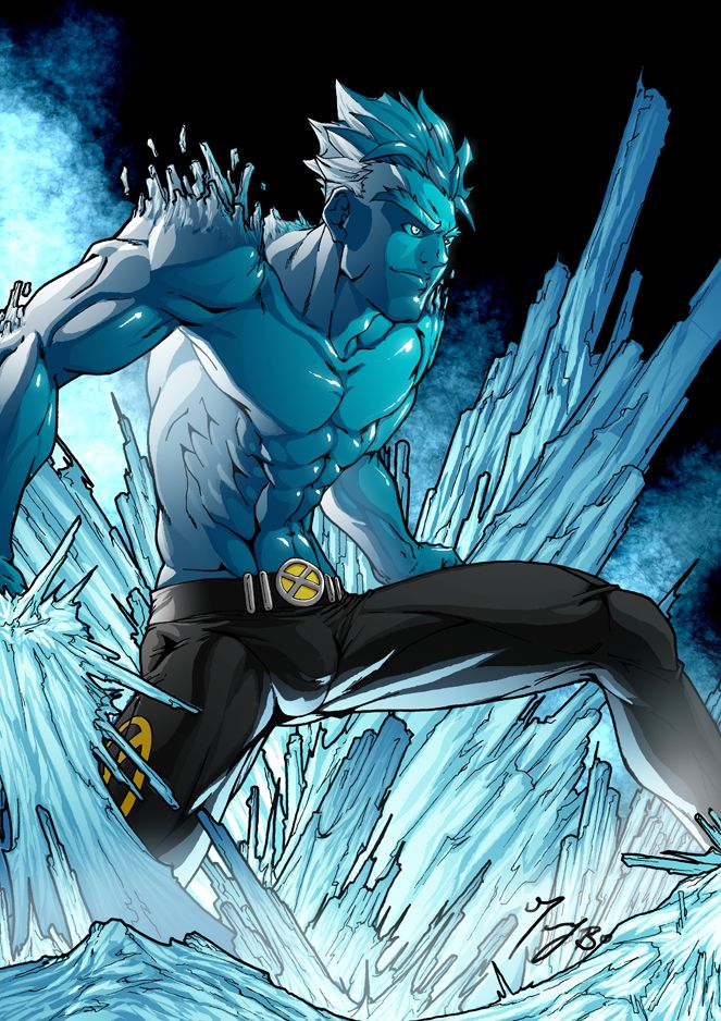 marvel+human+torch | ... Storm vs.Iceman vs. Ms.Marvel vs. Human Torch - Battles - Comic Vine