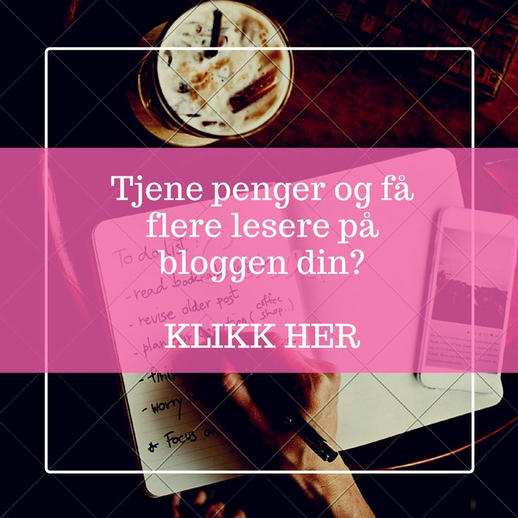 Ønsker du å få flere lesere eller å tjene penger på bloggen din? Alt du trenger å vite om å blogge – er et lettfattelig og enkelt blogg kompendium, rikt illustrert med bilder og tips. Bloggen…
