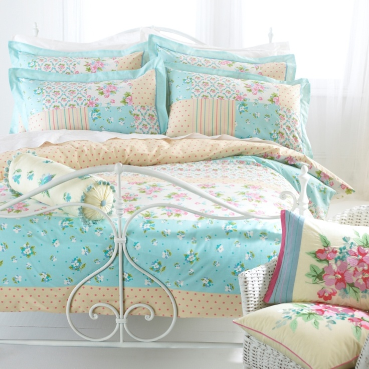 Tilly Duck Egg Blue Duvet Set Accessories Bedding
