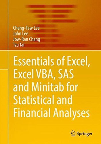 Best 25 sas statistics ideas on pinterest causes of human essentials of excel excel vba sas and minitab for statistical and financial analyses pdf fandeluxe Image collections