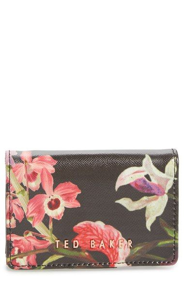 Ted Baker London Lost Gardens Leather Coin Purse available at #Nordstrom