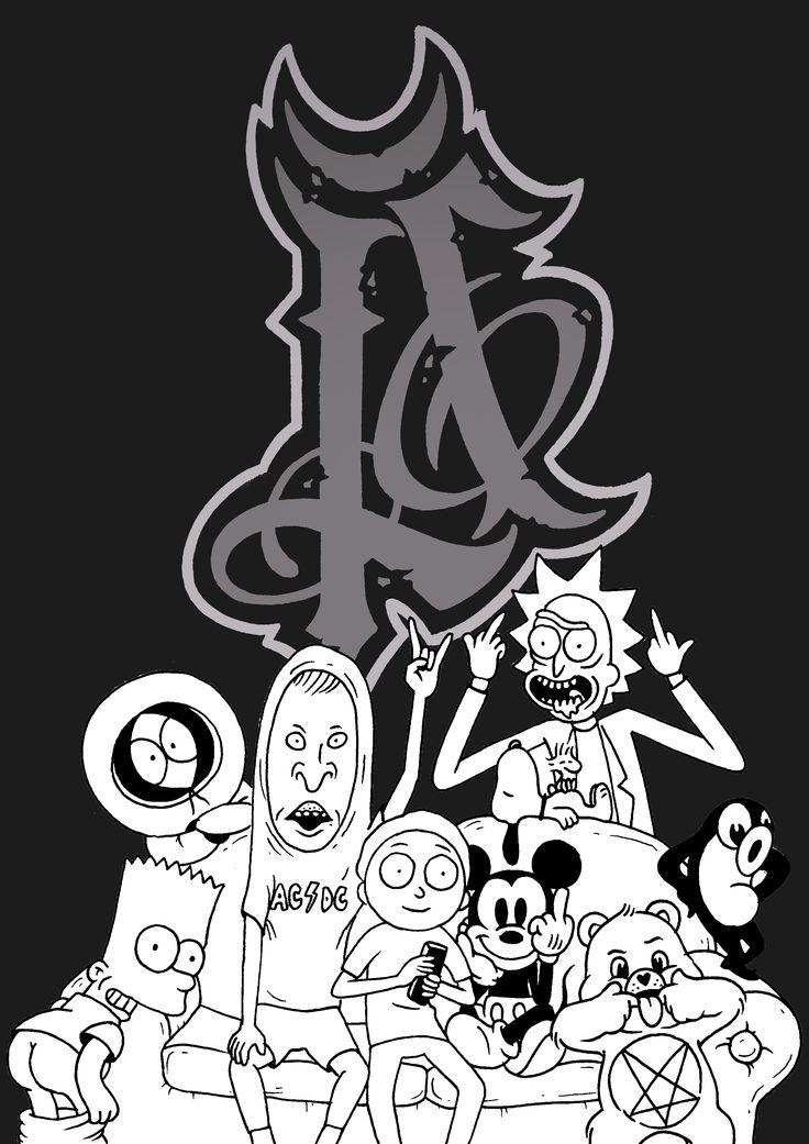 sinke_#sinketattoo #sinke #rickandmorty#simpsons #mickeymouse #beavisandbutthead #snoopy #southpark #carebear #satan #metal#acdc #illustration#illustratedmonthly #illustrationart#black#darkart#darkartists#blackworkerssubmission#photooftheday#artoftheday#blacktattooeurope #tattoo#painting#drawings#art #cartoon #series#blackisbeautiful#artwork