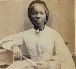 Sarah Forbes Bonetta in 1862