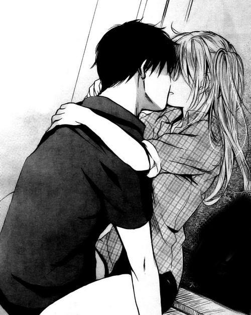Best Anime Bed Kiss Google Search Dessin De Couple Manga 640 x 480