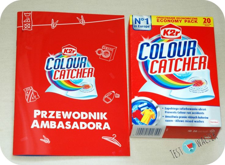 #Colour #catcher #chusteczki #pranie #rekomendujto