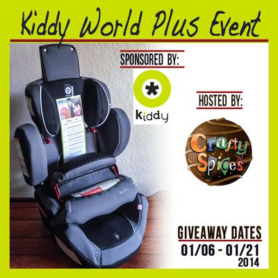 Enter to win a new Car Seat in the Kiddy World Plus Event! Ends 1/21 - Tales From A Southern Mom