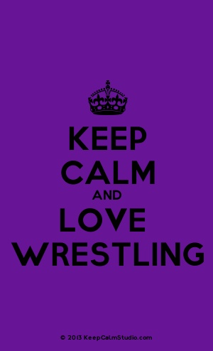 [Crown] Keep Calm And Love Wrestling