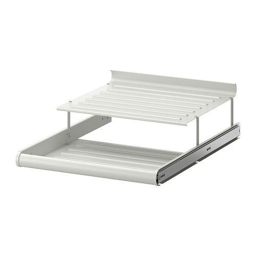 komplement pull out shoe shelf ikea 10 year limited warranty read about the - Sous Main Bureau Ikea