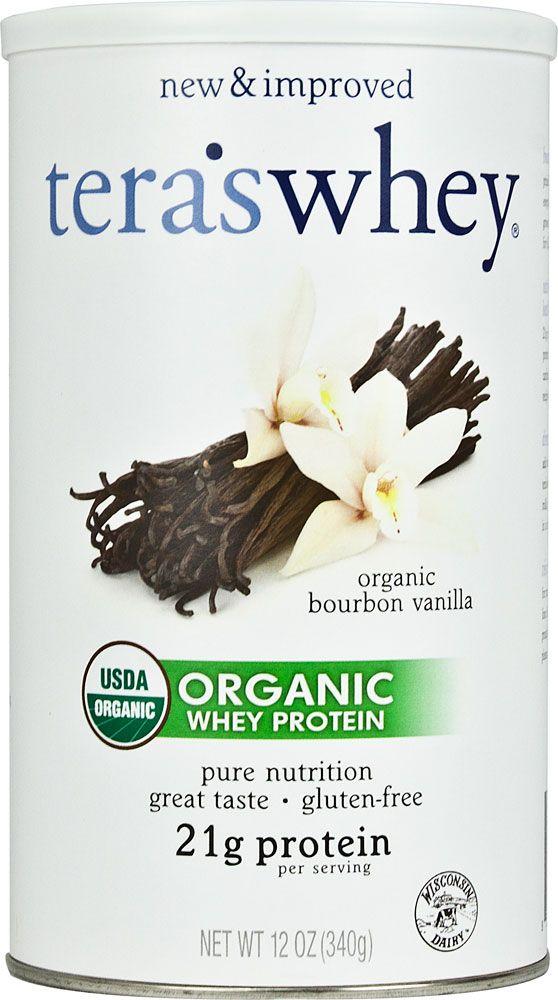 tera whey protein | Tera's Whey Organic Whey Protein Bourbon Vanilla -- 12 oz - Vitacost