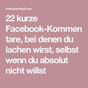 22 kurze Facebook-Kommentare, bei denen du lachen wirst, selbst wenn du absolut nicht willst