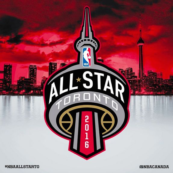 Toronto 2016 NBA All-Star Weekend Logo