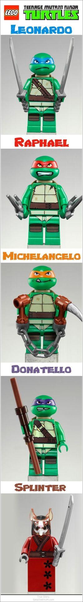 Nice. Lego Ninja Turtles. Cowabunga.