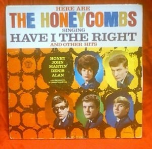 Here are the Honeycombs.  FOR SOME REASON DAD WAS FASCINATED BY THIS  GROUP WITH A FEMALE DRUMMER!