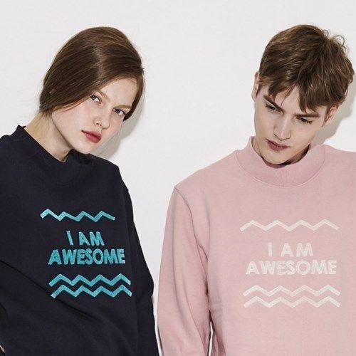 Awesome Sweat Shirt SAJ03-PI