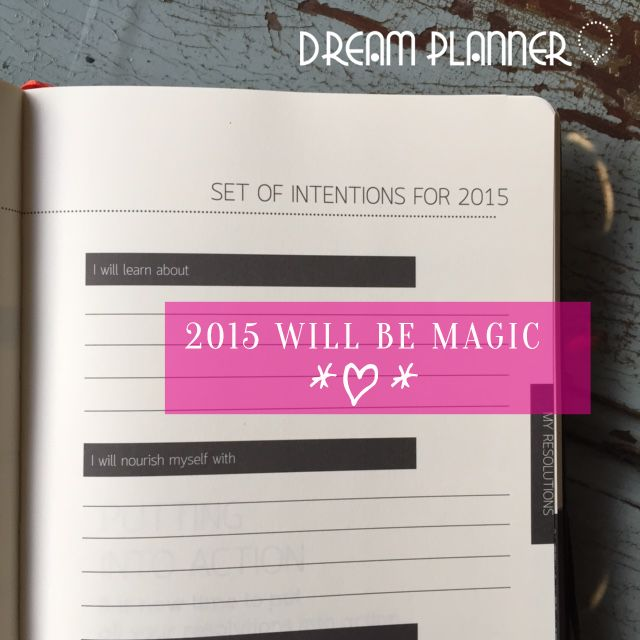Buy online at www.mydreamsplanner.com and make your life magic ★★★