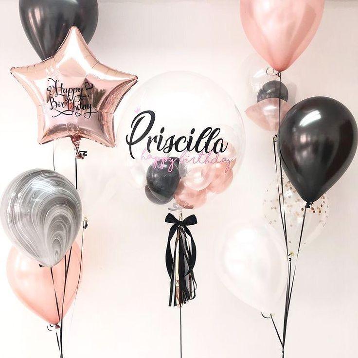 Mood: PINK GOLD ✨ Contáctanos para tus eventos via Whatsapp 📲829.278.1297 #balloons #gifts #crafts #ideas #decoration