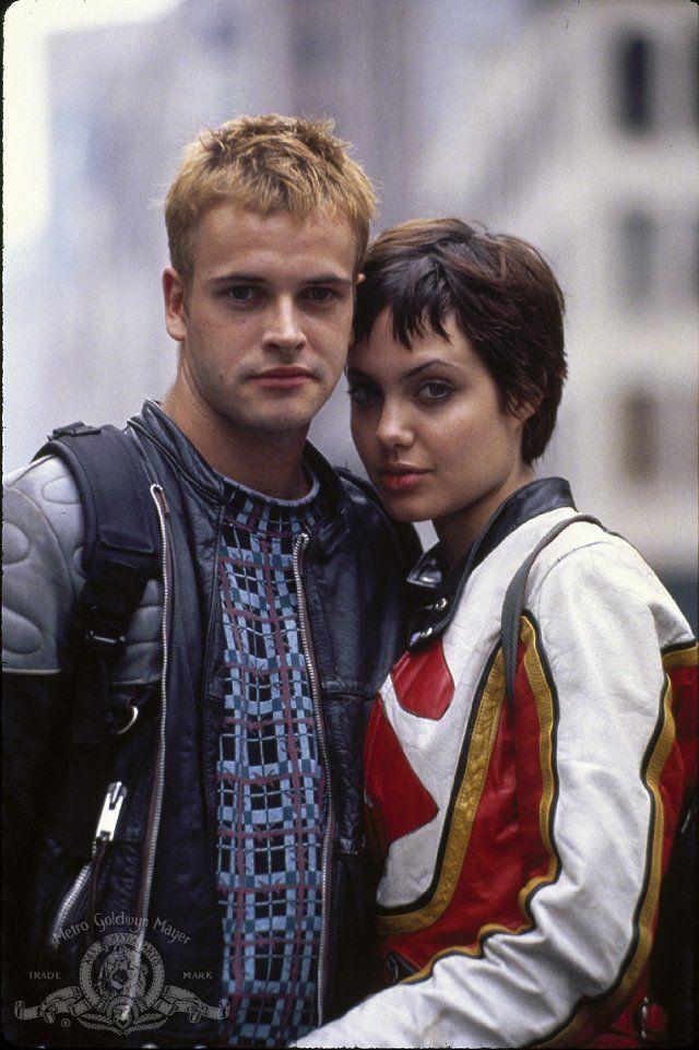 I love at Hackers  Angelina Jolie and Jonny Lee Miller in Hackers