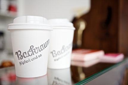 stamped coffee mug