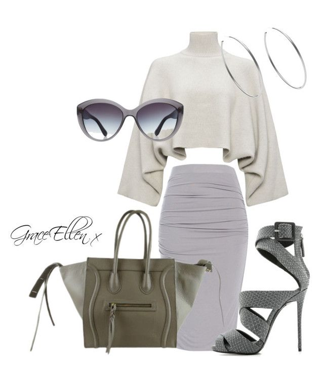 50 shades of grey edition by miss-grace-ellen on Polyvore featuring polyvore fashion style Jaeger Giuseppe Zanotti Michael Kors Dolce&Gabbana clothing