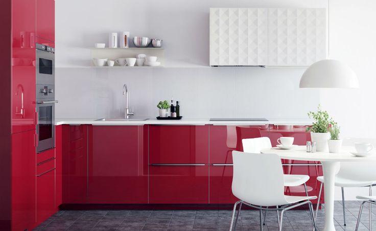 IKEA Küche Metod PhotoCredit IKEA Möbelvertrieb OHG Küchen - küche farben ideen