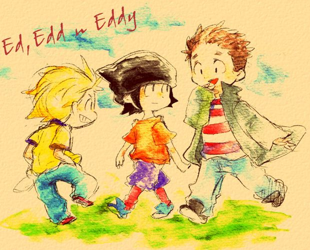 bored what to do ed edd eddy fanart illustration japanese pixiv