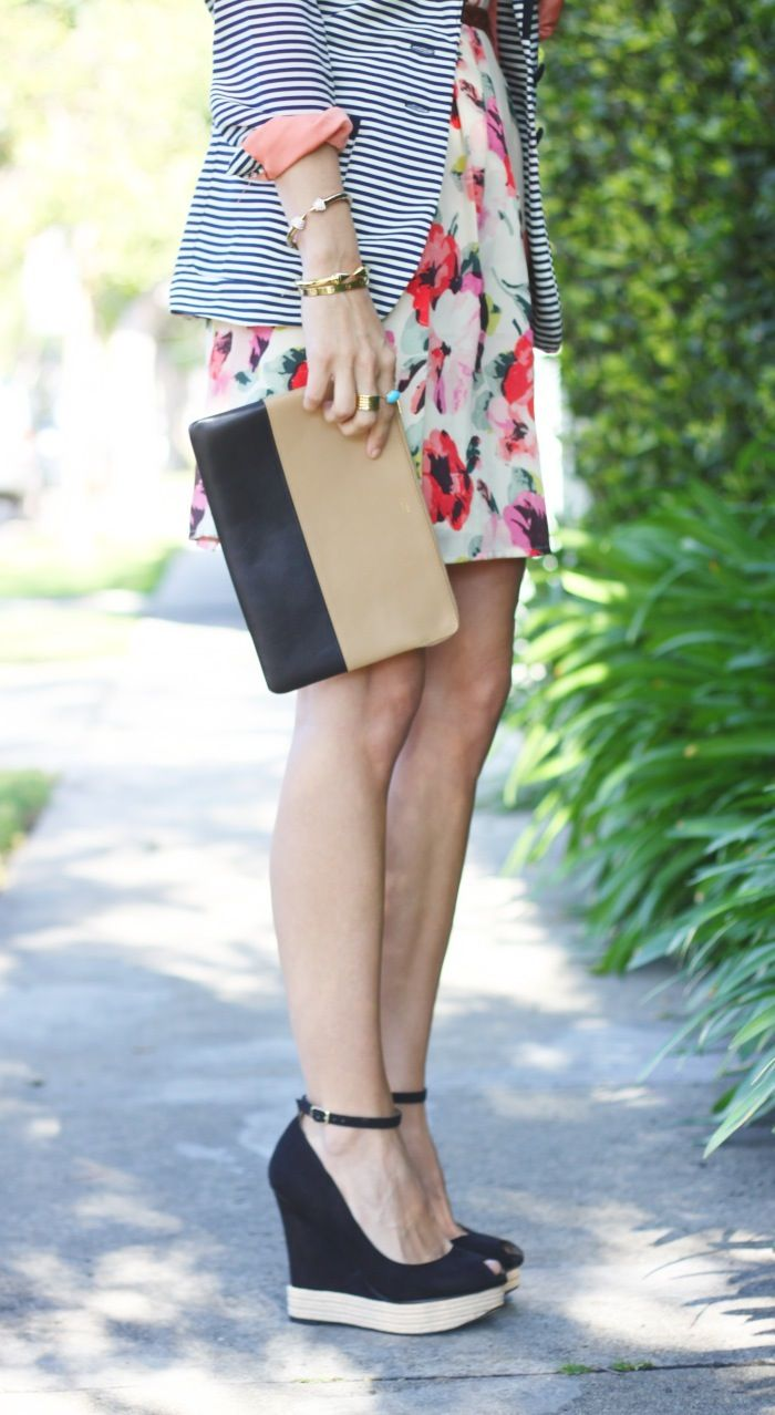 stripes and floral