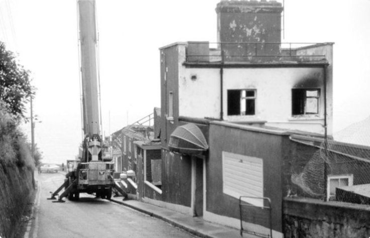 Demolition of the Asgard Hotel, Howth (1982)