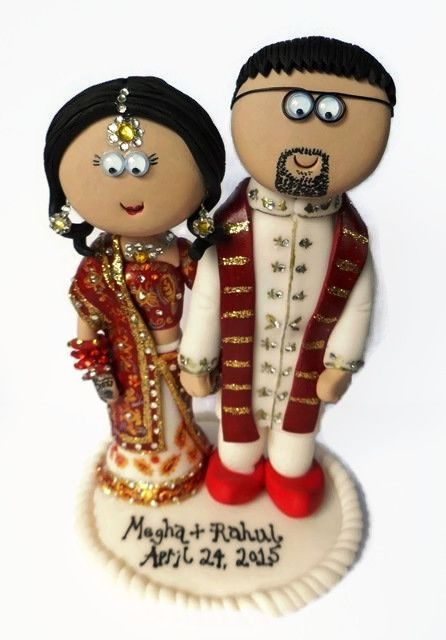 ... in the World. #indianwedding #weddings #caketoppers #india #indian