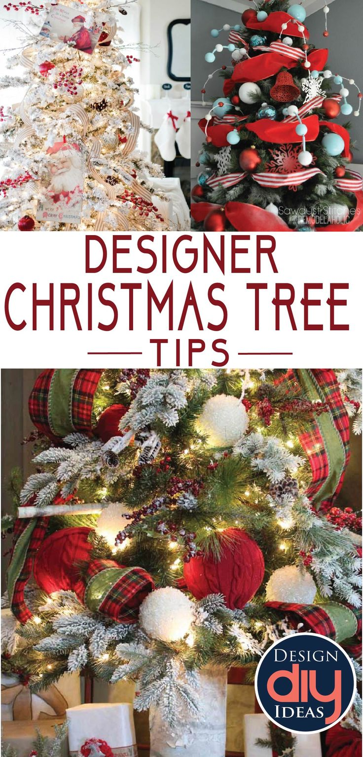 Towns that have great christmas decorations read - Designer Christmas Tree Tips