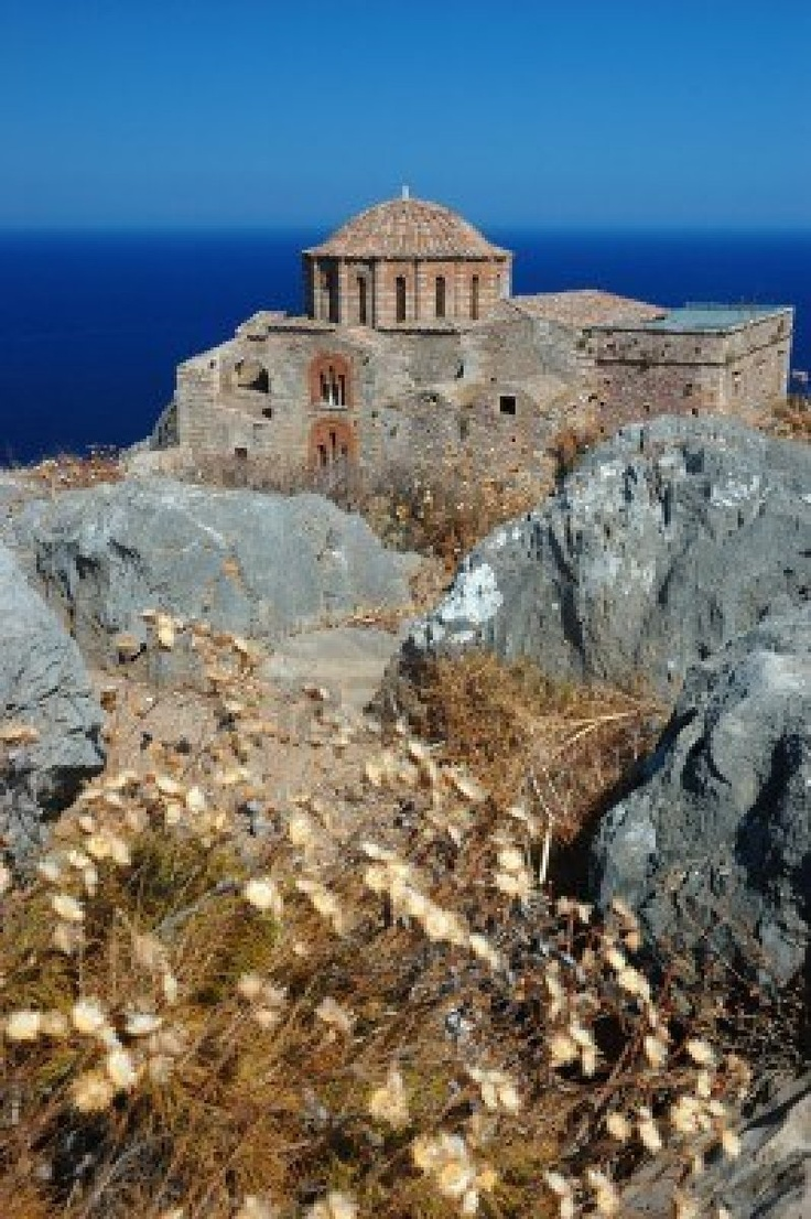 Church of Agia Sofia in Monemvasia at the east coast of the Peloponnese