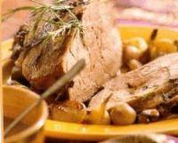 Recept Lamsbout met knoflook en rozemarijn @ tastyweb.nl