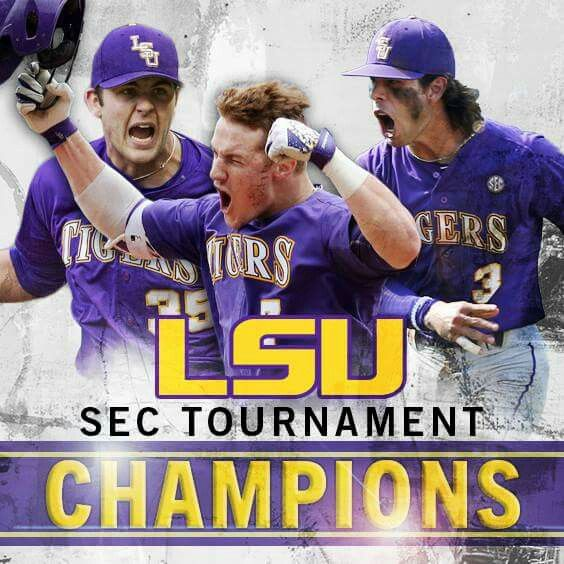 LSU is playing in the Semi Finals today for baseball!! If they win this game there in the finals!! GEAUX TIGERS!!
