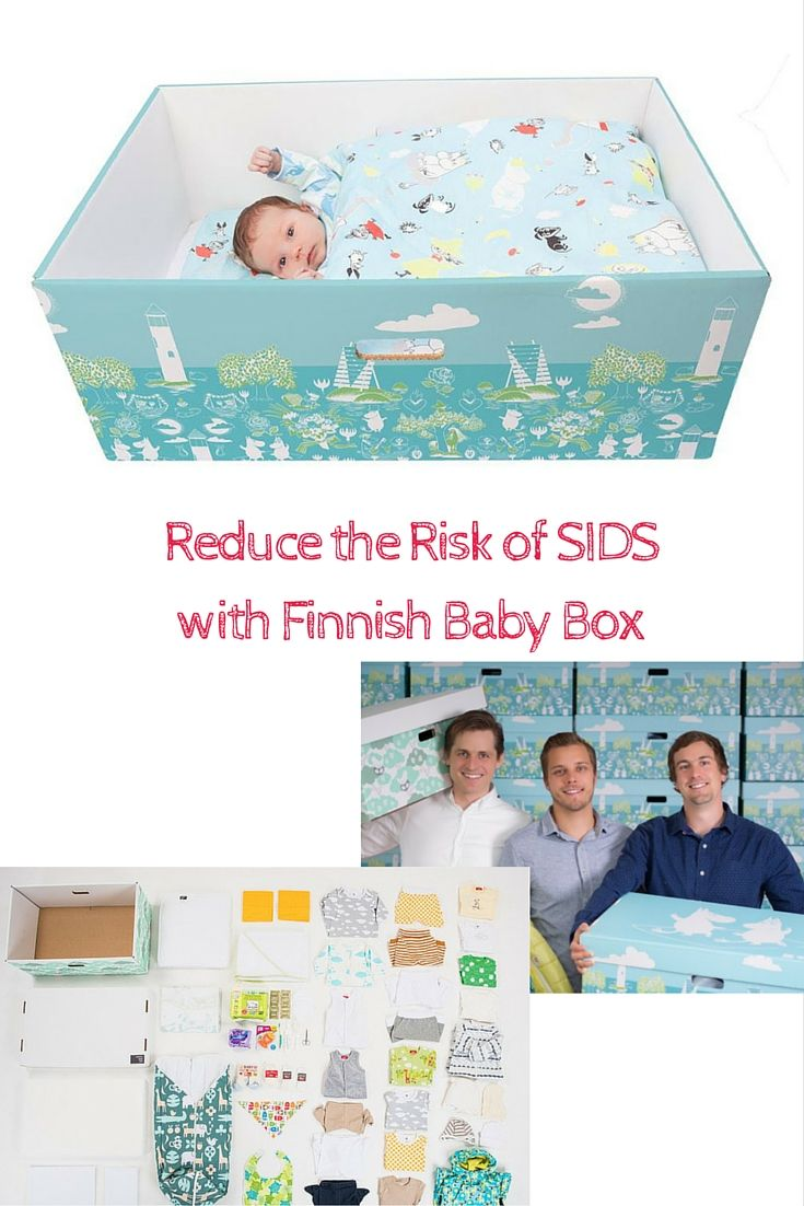 Finnish Baby Boxes are quickly becoming a hit in the USA. Everything you need for babies first year including a box with mattress.