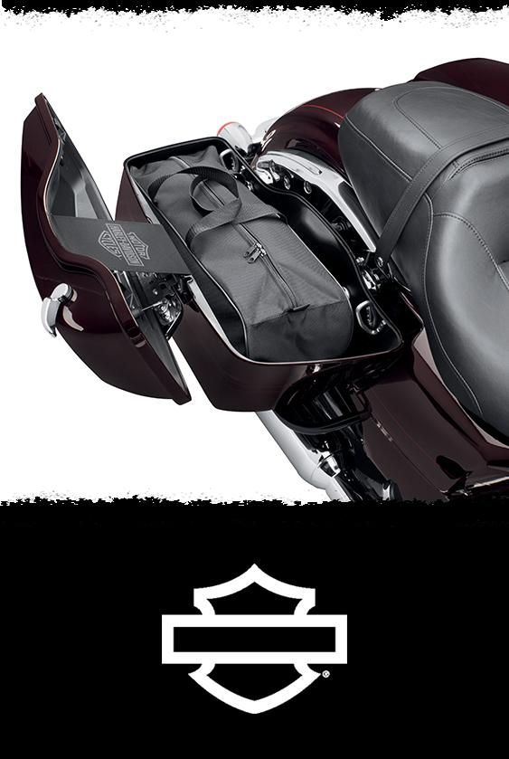 These well-constructed, water-resistant bags are designed to fit perfectly into Touring model luggage systems. The soft sides conform to the interior of the luggage to help use every available inch of space. | Harley-Davidson