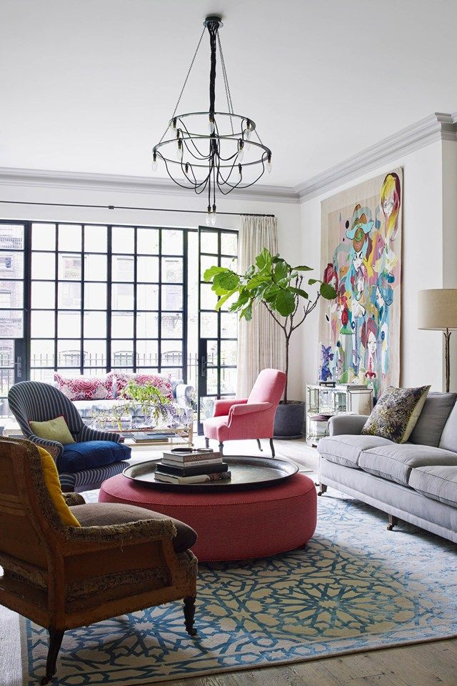 Town house, Manhattan's West Village| Real Homes | Interior Design (houseandgarden.co.uk)