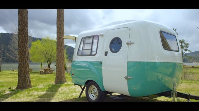 Retro modern at heart, delivering ground breaking flexibility in an ultra light package.  Happier Camper HC1.    Music by Moderat.