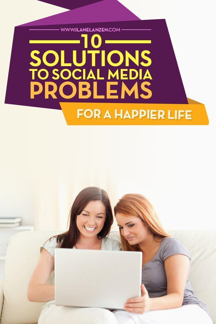 Social Media Problems   The world is a different place now that social media is present. There are some good aspects to it. For instance, you can instantly see how people are reacting to a big event or you can connect to a positive community that promotes