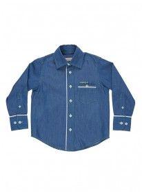 Long-sleeved shirt Blue