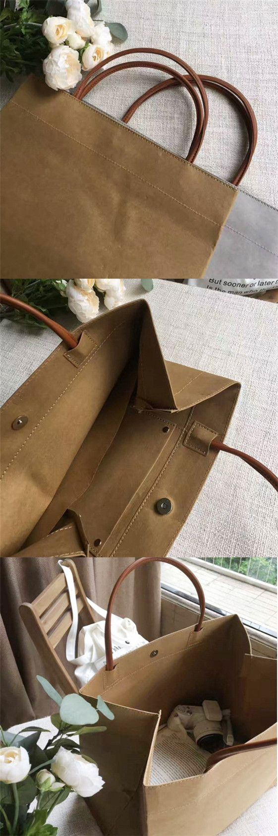 Coming Soon! reusable grocery bags waterproof bag reusable shopping bags brown paper bag wholesale kraft paper bag
