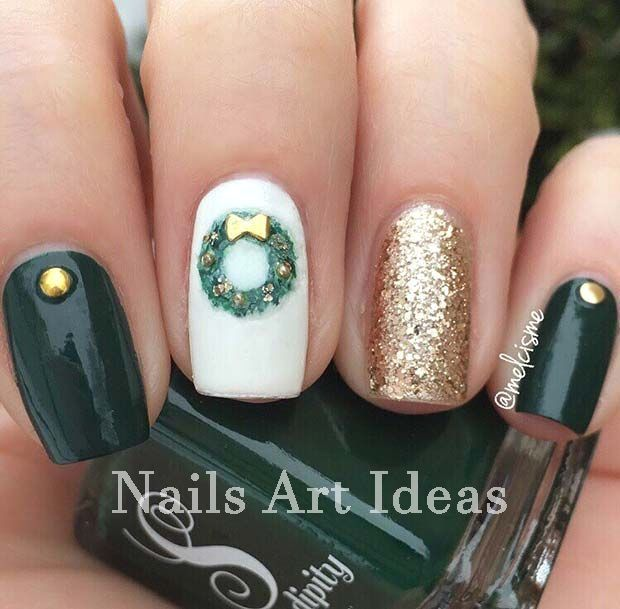 Beautiful and Colorful Art Designs for Short Nails nails